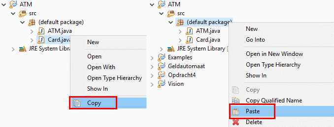 Java tutorial: prototype an ATM
