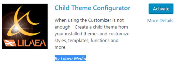 child_theme_configurator