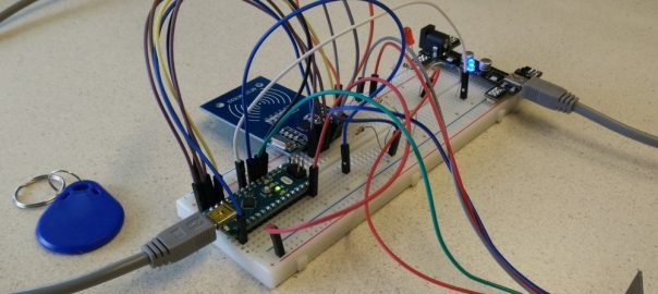 Connect an ESP8266 module to an Arduino Nano and control it with